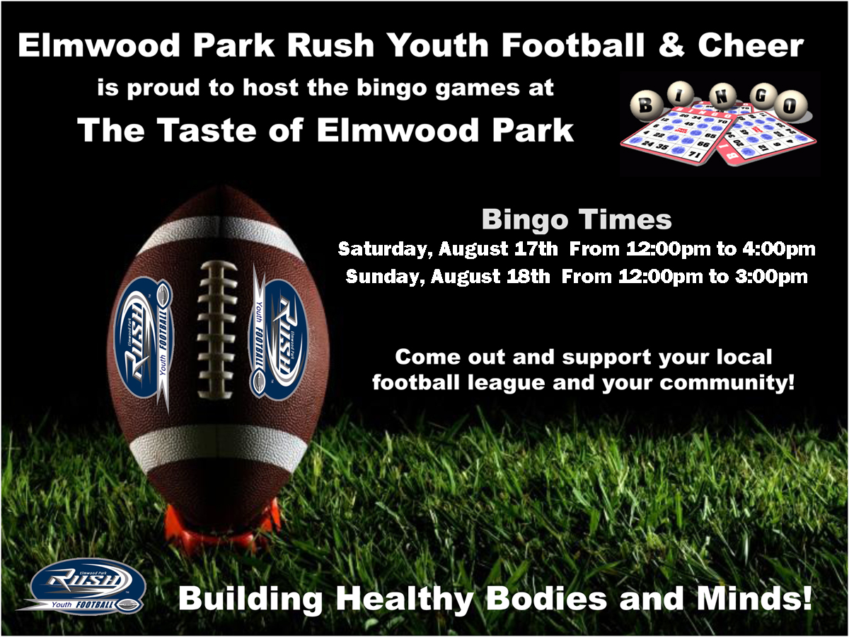 Taste of Elmwood Park BINGO